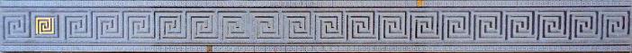 Фото - Пальмира Бордюр стеклянный серый 5х60 бордюр ceramica classic tile magnolia 4 5x40