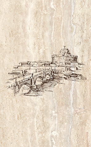 Efes coliseum-1 Iglesia Декор 25x40 бордюр ceramica classic tile efes leone 2 6 3x25