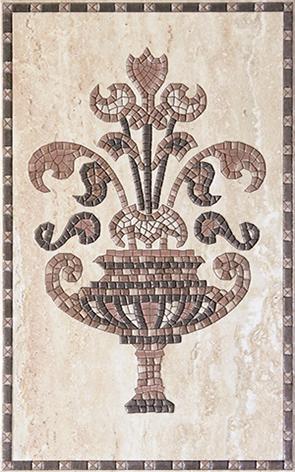 Efes greese Декор 25x40 декор venus ceramica aria cenefa beige 3x50