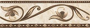 Illyria cappuccino Бордюр 8х25 бордюр ceramica classic tile illyria marrone 8x25