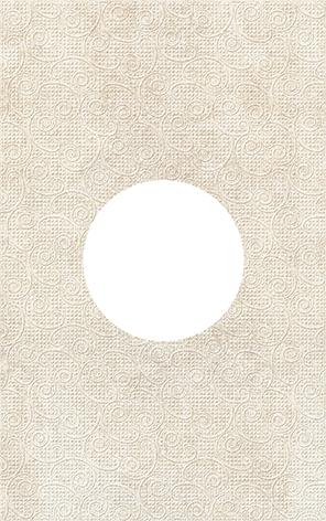 Galatia Декор круг d12 25x40 декор ceramica classic tile water dec 3 40x20