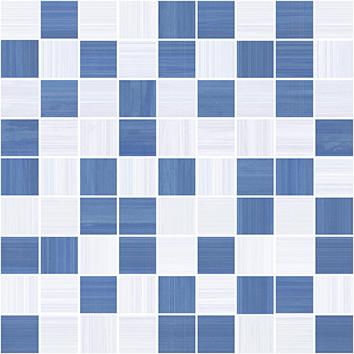 Stripes Мозаика синий+серый 30х30 бордюр ceramica classic tile stripes бордо 5x50