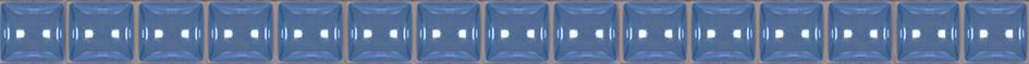 Фото - Stripes Бордюр бусинка синий 1,3х20 бордюр ceramica classic tile magnolia 4 5x40