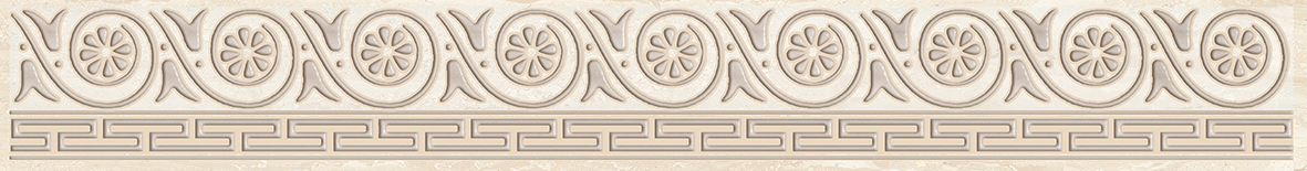 Persey Бордюр бежевый 56-03-11-497 5х40 бордюр keros ceramica fresh cen multicolor 5х40