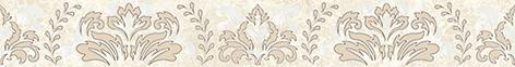 Persey Damask Бордюр бежевый 56-03-11-456-3 5х40 бордюр keros ceramica fresh cen multicolor 5х40