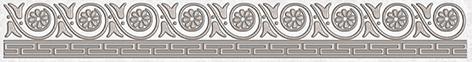 Afina Бордюр серый 56-03-06-425 5х40 бордюр keros ceramica fresh cen multicolor 5х40