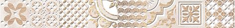 Bastion Бордюр бежевый 46-03-11-454 4,7х40 бордюр keros ceramica varna cen roses 5х50