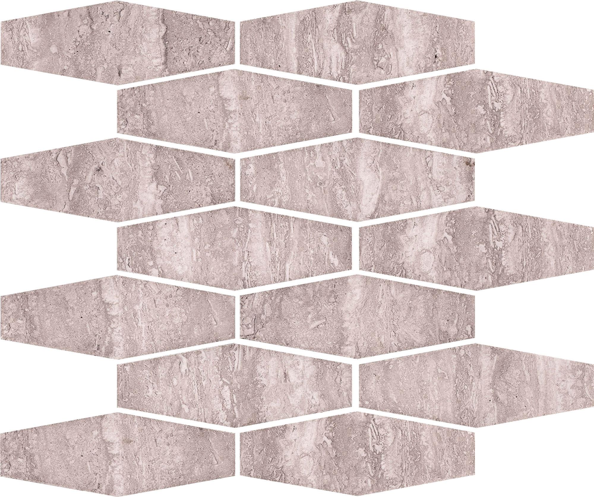 мозаика ceramika konskie andrea cream mosaic 20х20 Мозаика Ceramika Konskie Salomea Grey Mozaika 25x33