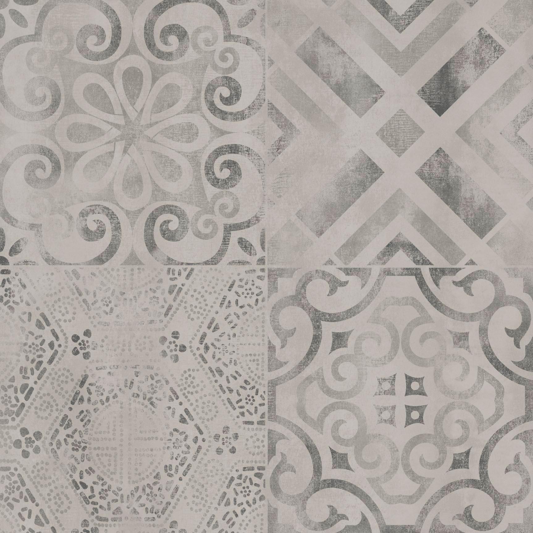 Напольная плитка Ceramika Konskie Raphael Grey 45x45 (1,62) напольная плитка dual gres chic seaford grey 45x45
