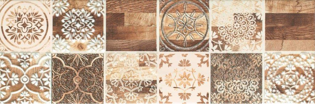 мозаика ceramika konskie andrea cream mosaic 20х20 Декор Ceramika Konskie Andrea 1 20х60