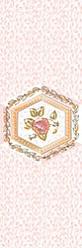 Декор Ceramique Imperiale Агатовый фон розовый (04-01-1-17-03-41-985-0) 20х60 бордюр ceramique imperiale агатовый фон 05 01 1 48 03 41 984 0 4х60