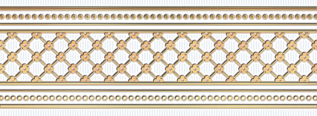 Бордюр Ceramique Imperiale Банкетный золото (05-01-1-93-03-29-877-0) 9х25 бордюр ceramique imperiale агатовый фон 05 01 1 48 03 41 984 0 4х60