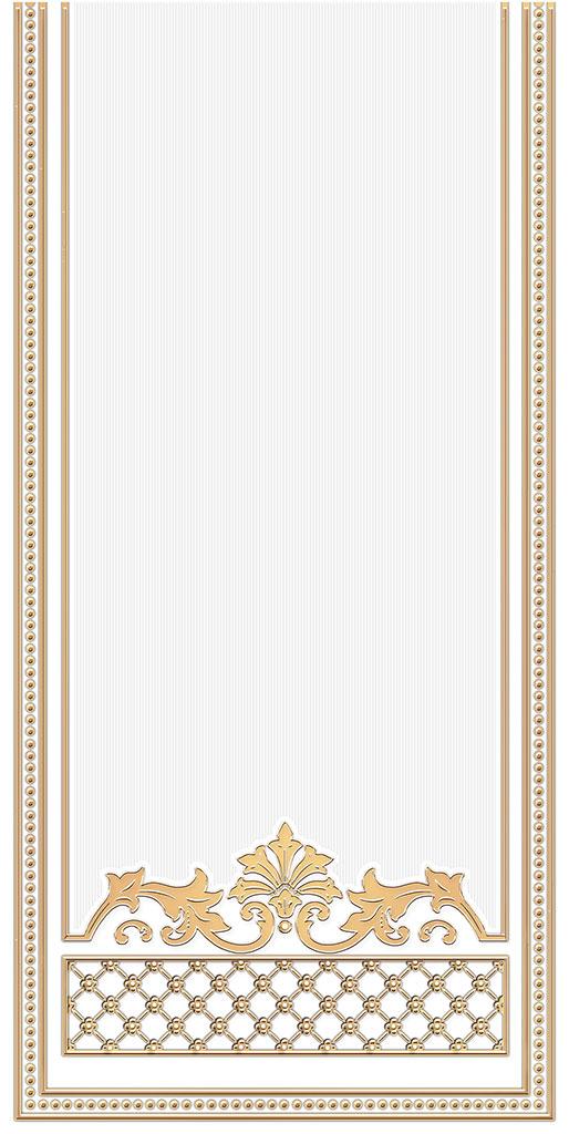 цена Декор Ceramique Imperiale Банкетный золото (04-01-1-10-03-29-873-0) 25х50