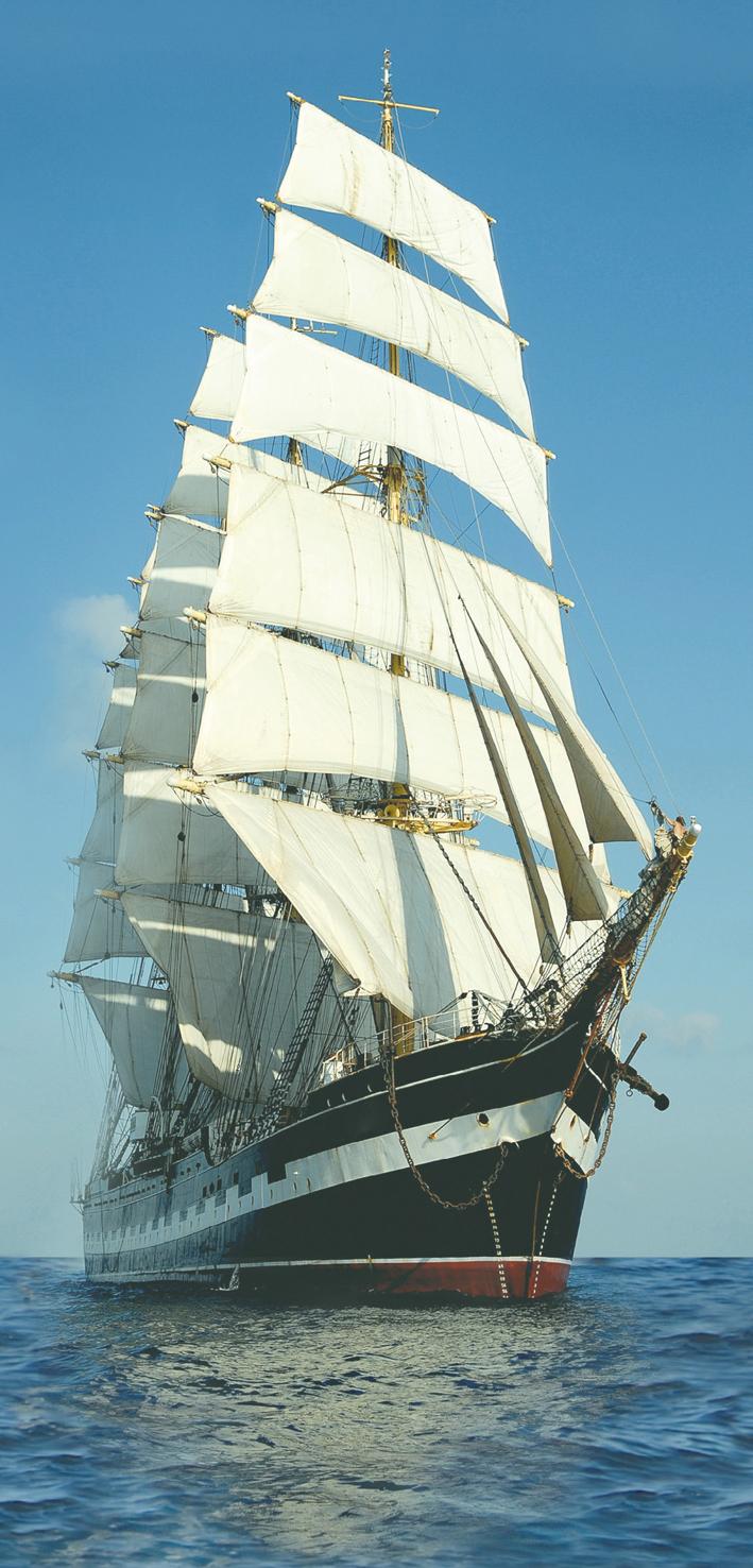 Porto Tall Ship Ship Панно 125x60 (5пл)