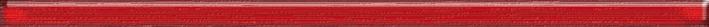 Fibra czerwona listwa szklana Бордюр 2,3x60 фигурки disney traditions фигурка микки и минни маус с колокольчиками с рождеством