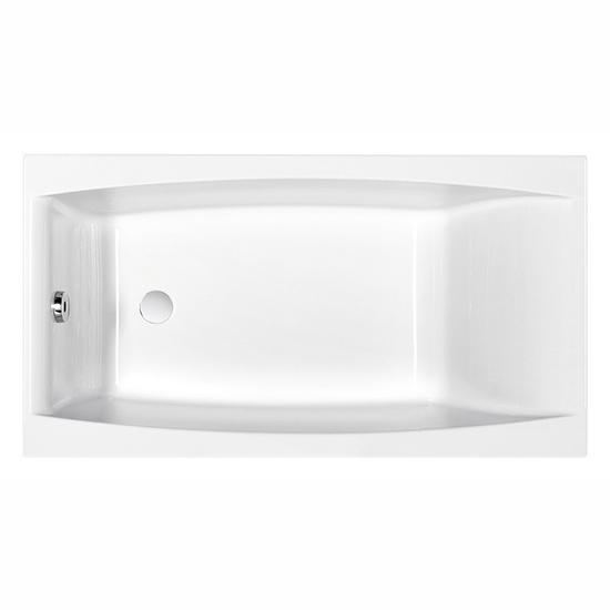 Акриловая ванна Cersanit Virgo 150x75 акриловая ванна cersanit smart 170 l