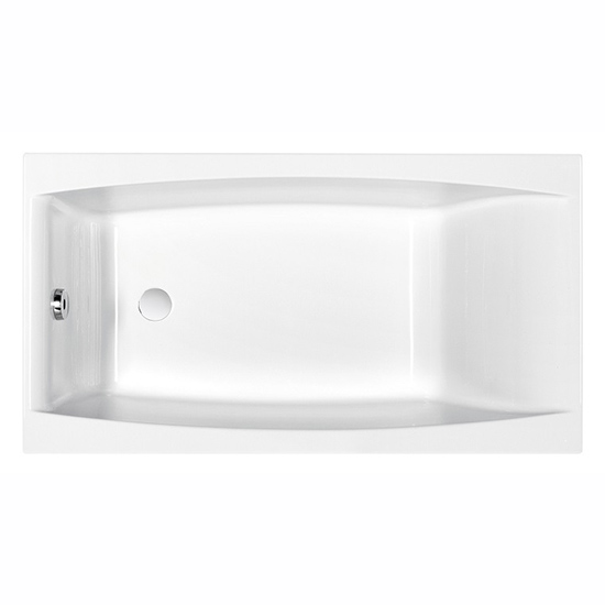 Акриловая ванна Cersanit Virgo 150x75 ножки для ванн cersanit ariza cariba diuna olimpia nike virgo 140 150 zp sepw1000004