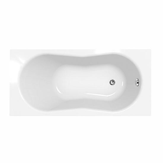 Акриловая ванна Cersanit Nike 170x70 ультра белый цвет акриловая ванна cersanit joanna 160x95 l ультра белый цвет