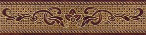 цены Romance Бордюр коричневый (RN1C111) 6x25