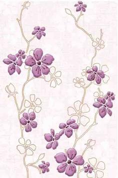 Milena Декор светло-сиреневый (C-MI2K321) 20x30 20шт декор настенный 20x30 спасское травы розовый узор