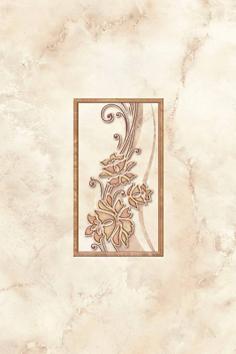 Siesta Декор светло-бежевый (SI2K301) 20x30 декор настенный 20x30 спасское травы розовый узор