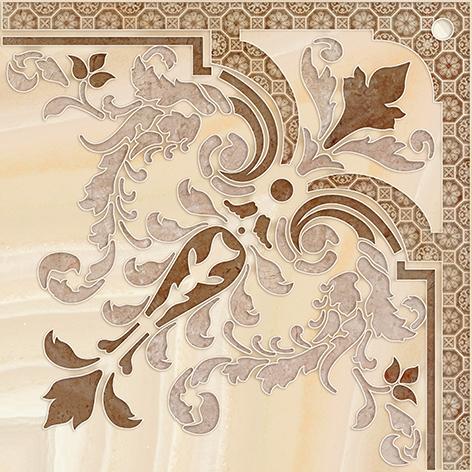 Agat Декор напольный бежевый (AW6E012DT) 44x44 декор напольный 15х15 massima коричневый