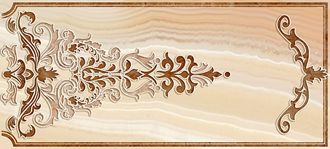 Agat Декор бежевый (AW2G011DT) 20x44 цена