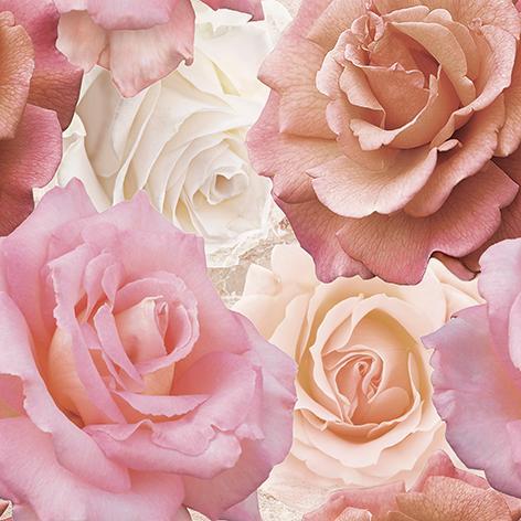 Wave Roses Декор напольный (WA6E452DT) 44x44 декор напольный 15х15 massima коричневый