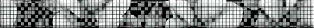 Black&White Бордюр стеклянный черный (BW7H231) 4x44 цена