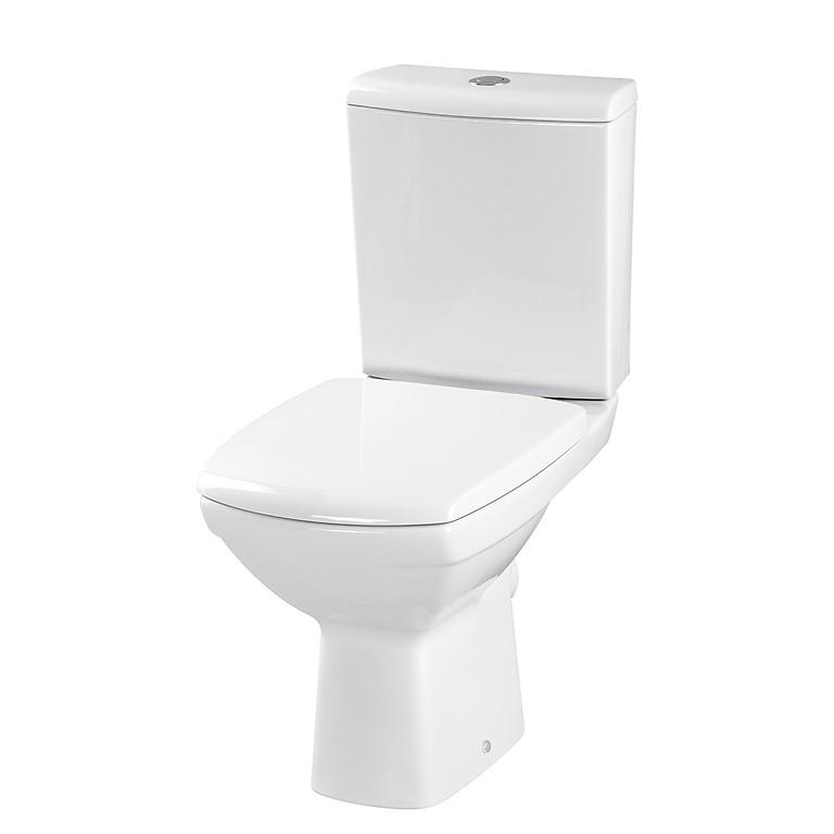 Унитаз компакт Cersanit Carina New Clean On 011 3/5 сиденье с микролифтом easy-off, белый аксессуары для фотостудий brand new ems dhl fedex s60 3 5 60 steadycam steadicam dslr s60