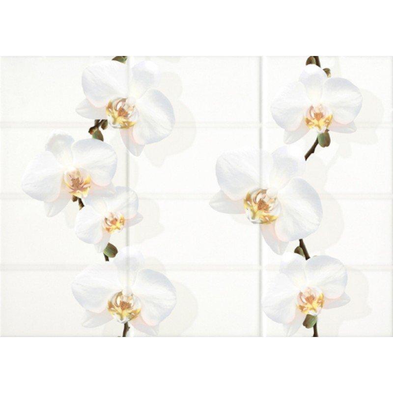 Mono Декор светло-бежевый цветы (MY2M301D) 25x35 декор cersanit villa бежевый 25x35
