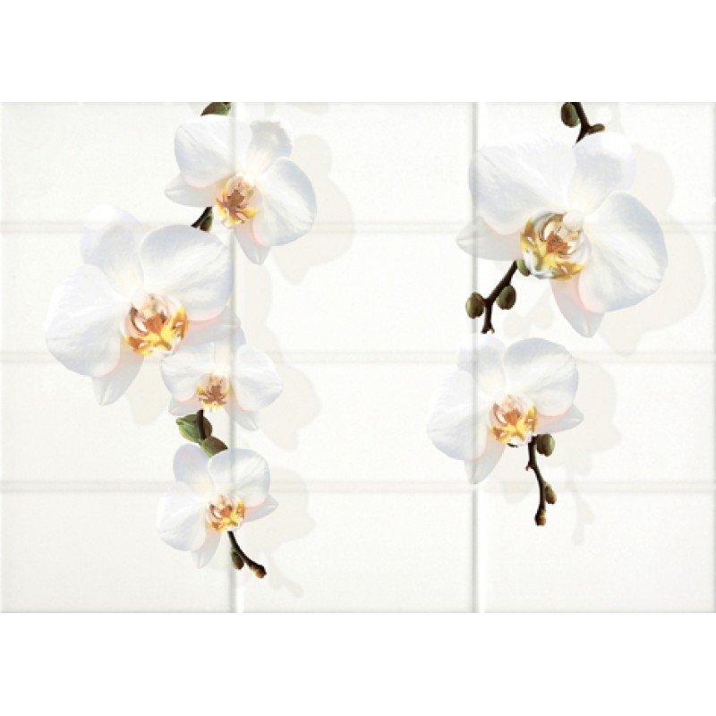 Mono Декор светло-бежевый цветы (MY2M302D) 25x35 декор cersanit latte car 2 25x35