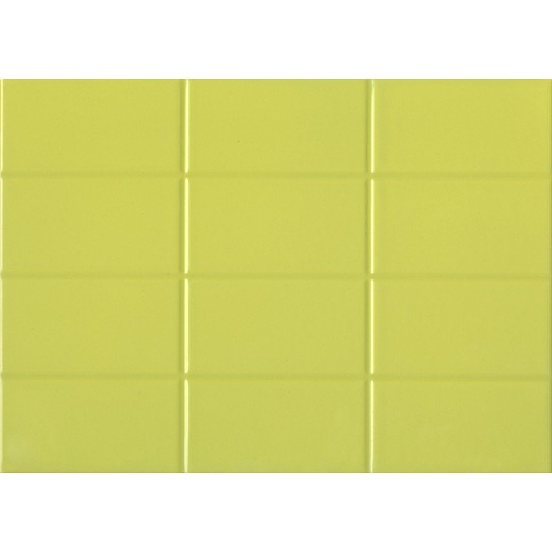 Mono Плитка настенная салатовая (MYM351R) 25x35 плитка настенная fantasy верх 25x35 см 1 4 м2