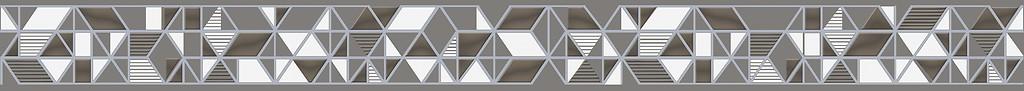 Polaris Бордюр серый (PG5D092) 5x59.8 цена