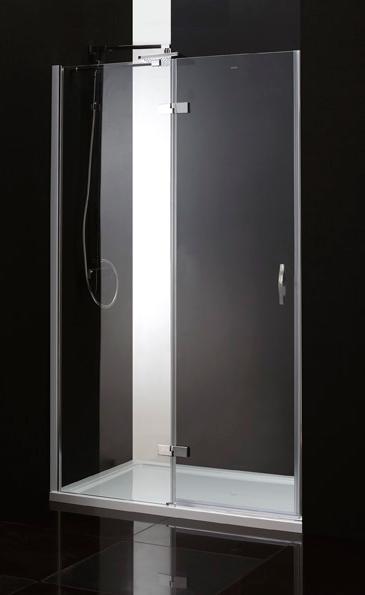 Душевая дверь Cezares Bergamo B12 90 P Cr L матовое стекло, профиль хром левая cezares душевая дверь в нишу cezares verona b12 90 p cr l