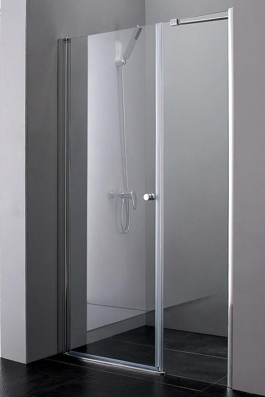 Душевая дверь Cezares Elena B11 40/80 C Cr прозрачное стекло, профиль хром душевая шторка на ванну cezares eco eco o v 11 120 140 p cr r