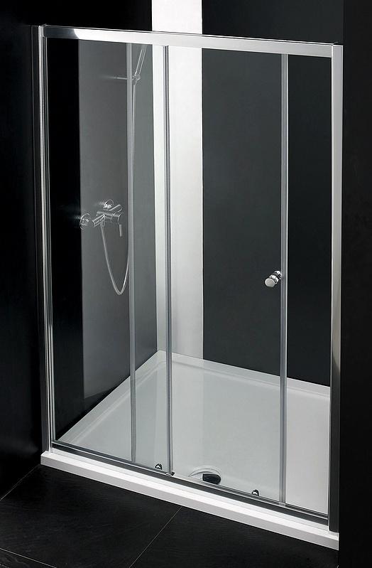 Душевая дверь Cezares Anima BF1 140 P Cr стекло матовое, профиль хром