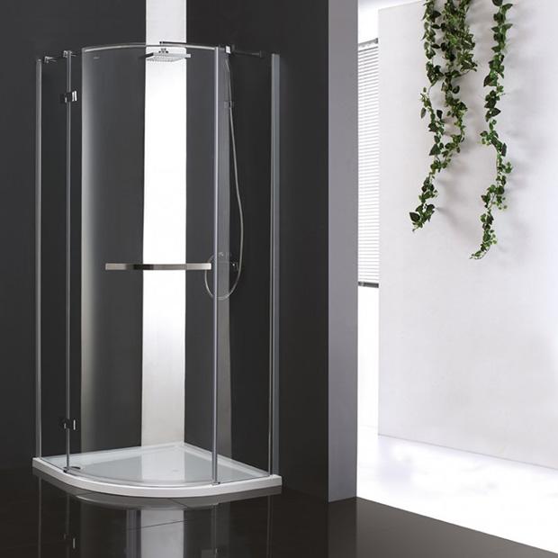 Душевой уголок Cezares BERGAMO R 1 100 ARCO C Cr R прозрачное стекло, профиль хром правый IV душевая шторка на ванну cezares eco eco o v 11 120 140 p cr r