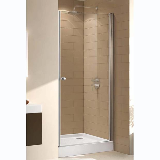 Душевая дверь Cezares ECO B 1 70 C Cr прозрачное стекло, профиль хром