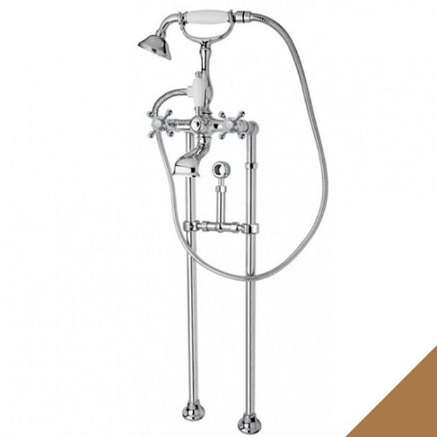 Смеситель Cezares Golf VDPS-02-M для ванны кольцо отверстия перелива раковины cezares бронза czr rng br