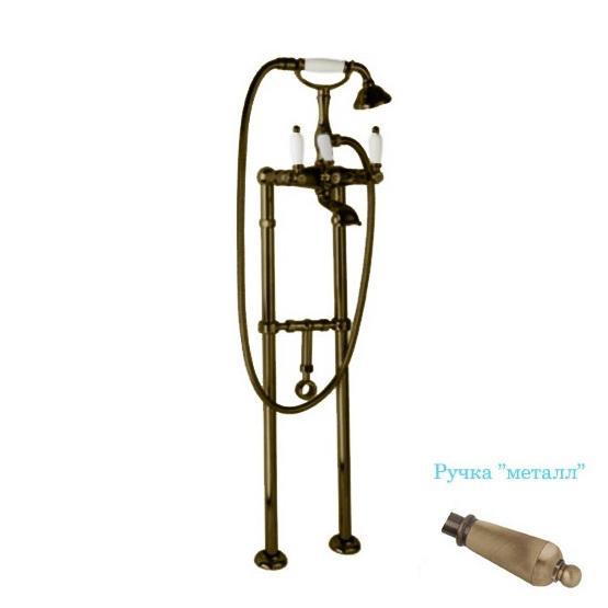 Смеситель Cezares First VDPS-02-M для ванны кольцо отверстия перелива раковины cezares бронза czr rng br