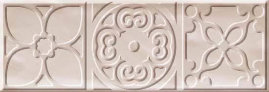 Bulevar Altair Ivory Decor Декор 100x300 мм/16 вставка cifre ceramica bulevar taco altair vison 10x10
