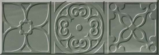 Bulevar Altair Jade Decor Декор 100x300 мм/16 вставка cifre ceramica bulevar taco altair vison 10x10