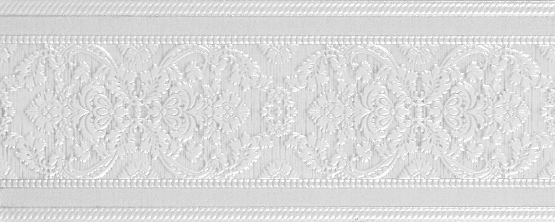 Adore White Cenefa Бордюр 100x250 мм adore delano london