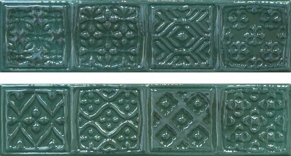 Декор Cifre Comp.Rodia Emerald 15х30 цена