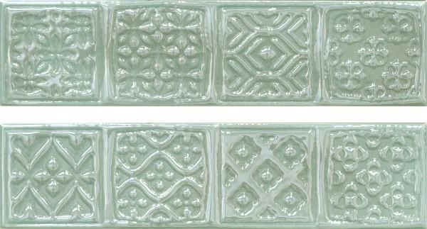 Декор Cifre Comp.Rodia Turquoise 15х30 цена