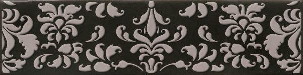 Декор Cifre Decor Coquet Black 7,5х30 декор для стен