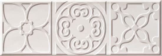Bulevar Altair White Decor Декор 100x300 мм/16 вставка cifre ceramica bulevar taco altair vison 10x10