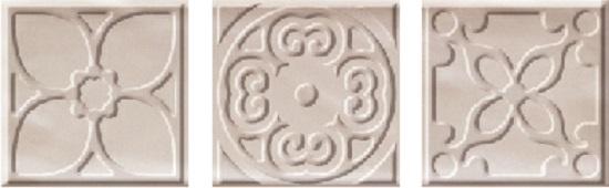 Bulevar Altair Ivory Taco Вставка 100x100 мм/48 bulevar moldura ivory бордюр 50x305 мм 20