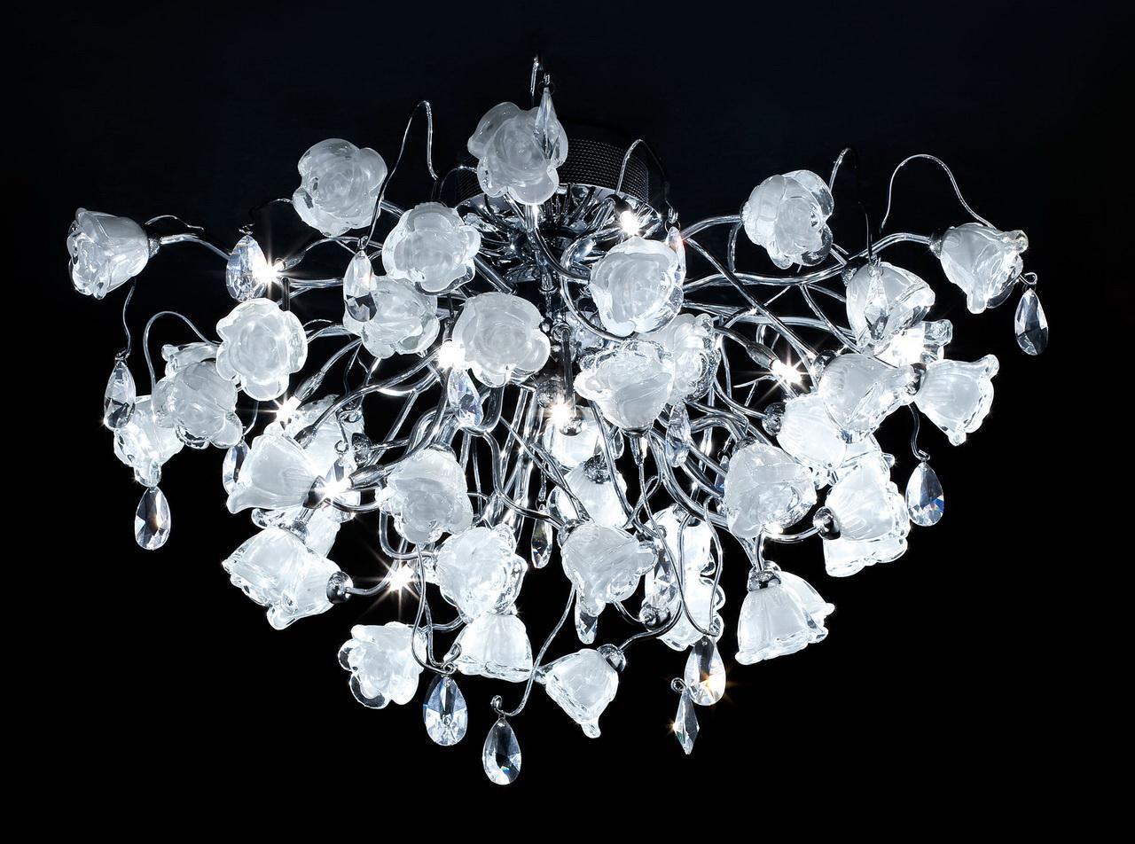 Люстра Citilux Rosa Bianco EL325C15.1 потолочная to4rooms лампа потолочная sofía